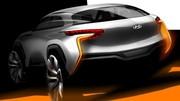 Hyundai Intrado Concept 2014 : un crossover à hydrogène pour Genève