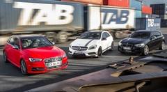 Essai Mercedes A45 AMG vs Audi S3 Sportback vs BMW M135i xDrive