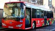 Des autobus électriques à Londres