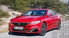 Peugeot va-t-il oser le coupé 4 portes 408 GT ?