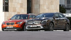 Mercedes GLA contre BMW X1 : L'opportuniste