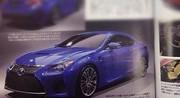 Détroit 2014 - La Lexus RC F en fuite