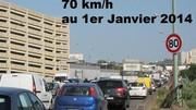 Le Periph à 70 km/h dès le 1er janvier !