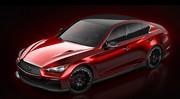 L'Infiniti Q50 Eau Rouge se dévoile entièrement
