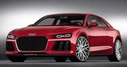 Le concept Audi Sport Quattro passe aux diodes laser