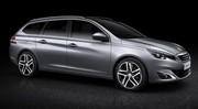 Nouvelle Peugeot 308 SW 2014 : premières photos et infos du break compact