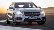 Mercedes GLA 45 AMG : Gaz à tous les étages !
