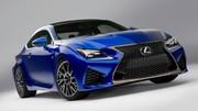 Lexus RC F 2014 : le coupé s'offre 450 chevaux pour Detroit