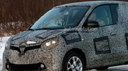 Renault Twingo 2014 : photos scoops en classe de neige