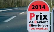 PRK 2014 : le prix de revient kilométrique de L'argus
