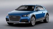 Audi Allroad Shooting Break : le futur TT grimé en un break SUV