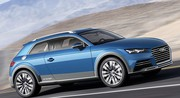 Audi Allroad Shooting Brake e-tron hybride rechargeable