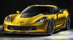 La nouvelle Corvette Z06 en fuite