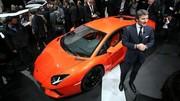 En 2013, Lamborghini a marché fort
