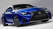 Lexus débute l'année à Détroit avec son coupé sportif RC F