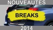 Calendrier des nouveautés 2014 - Breaks: 308 SW, future star de la catégorie ?