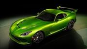 SRT Viper Stryker Green, le coupé se décline en vert !