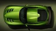 SRT Viper Stryker Green : Haute en couleurs