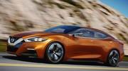 Nissan Sport Sedan Concept : Regard en avant
