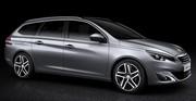 Peugeot 308 SW : les tarifs