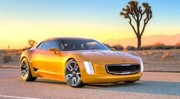 "Kia GT4 Stinger : un muscle car ""korean style"""
