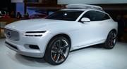 Volvo XC Coupé Concept, XC90 en puissance