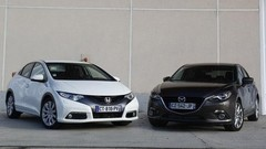 Comparatif Mazda 3 vs Honda Civic : déficit d'image
