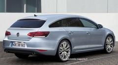 Volkswagen CC Shooting Brake : Déménageur de charme