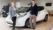 Enfin, la 100 000 ème Nissan Leaf