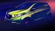Datsun : premier croquis du concept dévoilé le 5 février