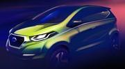 """Datsun """"I2"""" Concept : première image, présentation à New Delhi"""