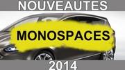 Calendrier des nouveautés 2014 - Monospaces