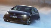 Essai de la Volkswagen Golf R (2014) sur glace !