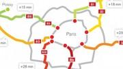 Etude V-Traffic : des axes parisiens saturés