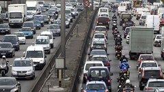 Embouteillages : +26% en Ile de France de 2010 en 2013