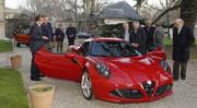 L'Alfa Romeo 4C, élue plus belle voiture de l'année 2013