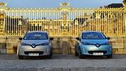 Renault Zoé : un premier anniversaire à Versailles