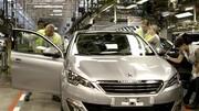 La production nationale des constructeurs français a chuté de 42 %