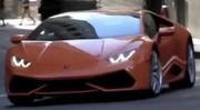 La Lamborghini Huracan surprise en plein tournage
