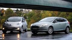 Essai Ford Focus Electric vs Nissan Leaf : Entre stress et tension