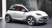 Opel Adam cheveux au vent