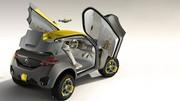 Le Renault KWID Concept possède un drone de compagnie