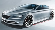Skoda Vision C : Le grand coupé 5 portes à la Tchèque