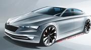 Škoda VisionC Concept 2014 : un coupé 5 portes au Salon de Genève
