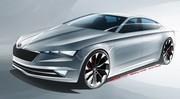 Skoda Vision C : un coupé à cinq portes bientôt dans la gamme