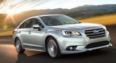 Subaru présente la nouvelle Legacy au salon de Chicago