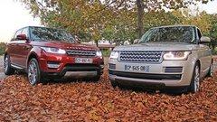 Essai Land Rover Range Rover / Range Rover Sport : lequel choisir ?