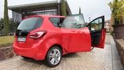 Essai Opel Meriva restylé 1.6 CDTI 136 : nouveau coeur