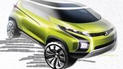 Mitsubishi avec trois concepts familiers