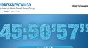 Renault vous invite à déshabiller la Nouvelle Twingo